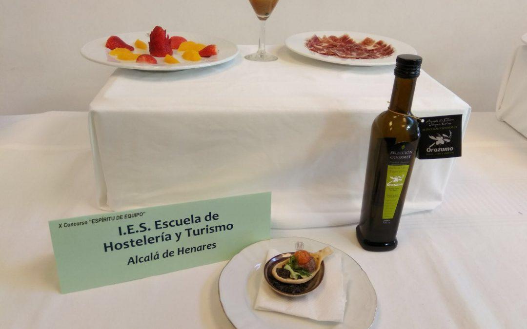 OLEOZUMO en el Concurso de la Escuela de Hostelería de Madrid
