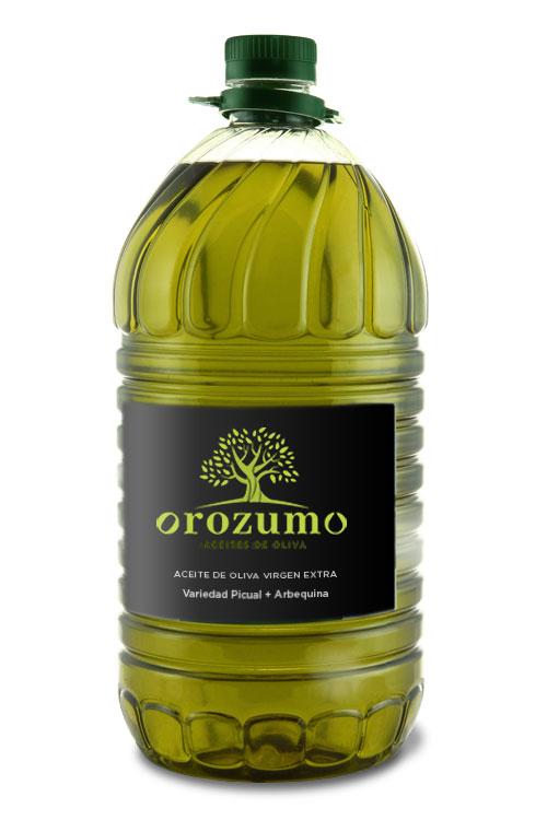 Aceite de Oliva Virgen Exta - Oleozumo -Orozumo - Garrafa 5L