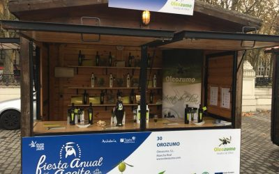 Olezozumo en la Fiesta del primer aceite de Jaén 2017