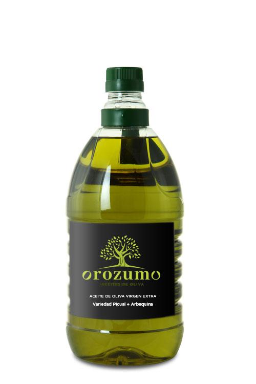 Aceite de Oliva Virgen Exta - Oleozumo -Orozumo - Garrafa 2L