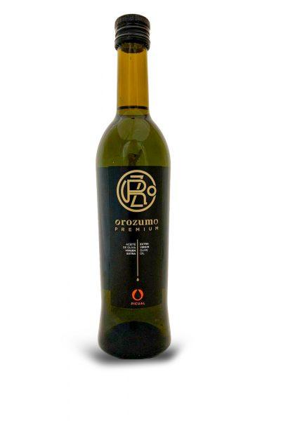 Botella 500ml Virgen Extra Selección Gourmet Picual Etiqueta