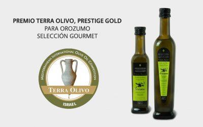 Premio Terra Olivo, Prestige Gold para Orozumo Selección Gourmet