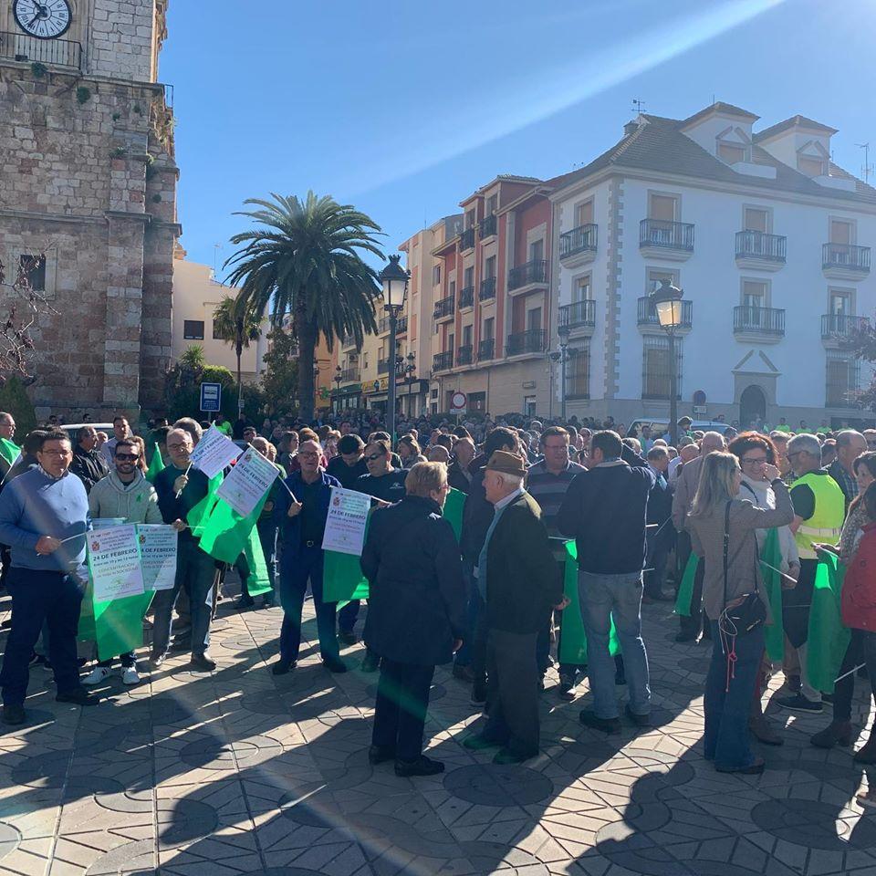Manifestación por unos precios justos para el aceite de oliva